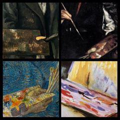 Ressamların Paletli Otoportreleri picture