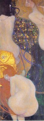 Show Altın Balık, 1901-1902, Tuval üzerine yağlıboya, 181 x 67 cm, Kunstmuseum Solothurn, Solothurn, İsviçre. details
