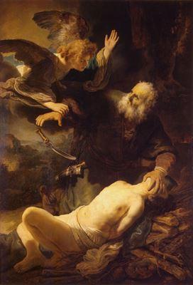 Show Isaac'ın Kurban Edilişi, 1635, Tuval üzerine yağlıboya, 193 x132 cm, Hermitage Museum, St. Petersburg, Rusya. details