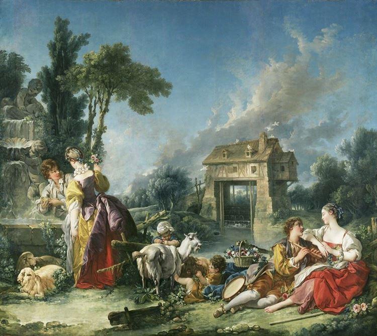 Francois Boucher, Aşk Çeşmesi, 1748 picture