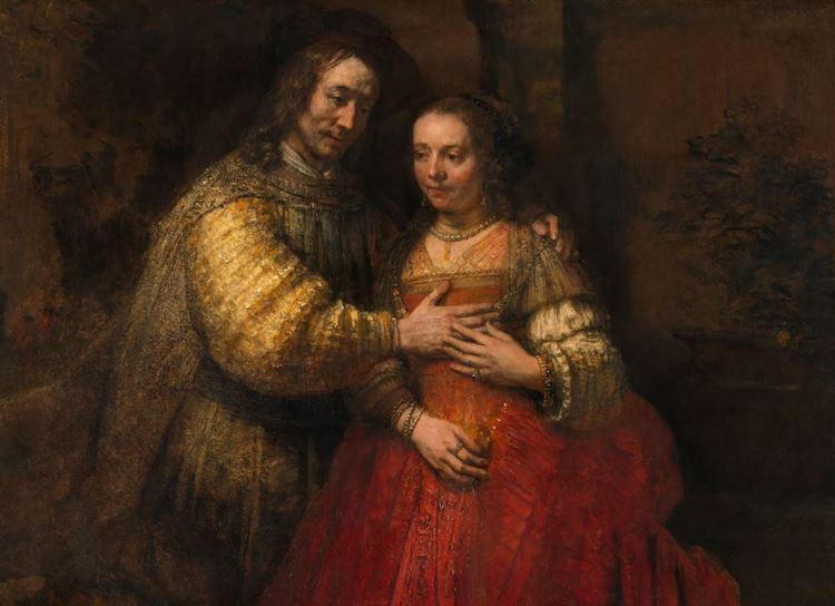 Rembrandt van Rijn, Yahudi Gelin, 1665-1669 dolayları picture