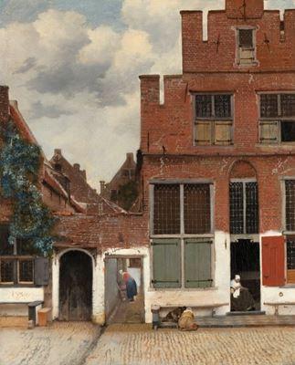 Show Küçük Sokak, 1658 dolayları, Tuval üzerine yağlıboya, 54.3 x 44 cm, Rijksmuseum, Amsterdam, Hollanda. details