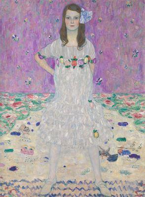 Show Mäda Primavesi, 1912-1913, Tuval üzerine yağlıboya, 149.9 x 110.5 cm, The Metropolitan Museum of Art, New York, ABD. details