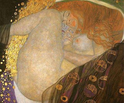 Show Danae, 1907-1908 dolayları, Tuval üzerine yağlıboya, 77 x 83 cm, Özel koleksiyon. details