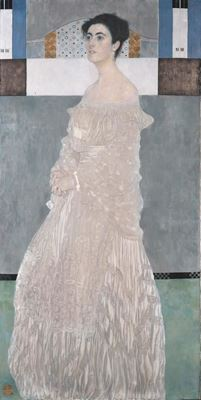 Show Margaret Stonborough-Wittgenstein'in Portresi, 1905, Tuval üzerine yağlıboya, 179.8 x 90.5 cm, Neue Pinakothek, Munich, Almanya. details