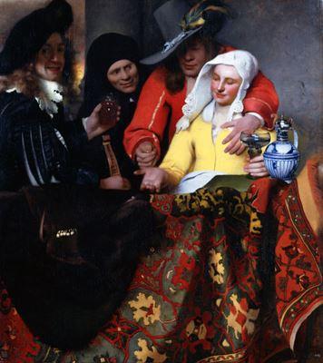 Show Kadın Taciri, 1656, Tuval üzerine yağlıboya, 143 x 130 cm, Staatliche Kunstsammlungen, Dresden, Almanya. details