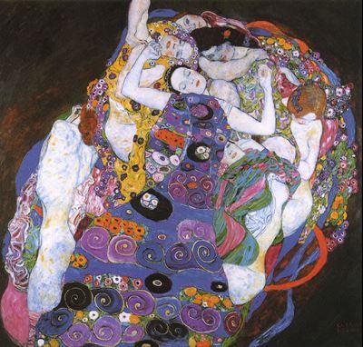Show Bakire, 1913, Tuval üzerine yağlıboya, 190 x 200 cm, Národní Galerie, Prague, Çek Cumhuriyeti. details