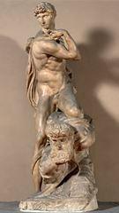 Show Zafer, 1532-1534, Mermer, 261 cm, Palazzo Vecchio, Florence, İtalya. details