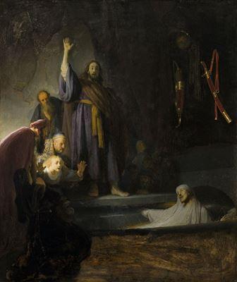 Show Lazarus'un Dirilişi, 1630-1632, Panel üzerine yağlıboya, 96.3 x 81.2 cm, Los Angeles County Museum of Art, Los Angeles, ABD. details