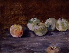 Show Erikler, 1880 dolayları, Tuval üzerine yağlıboya, 19.2 × 25 cm, The Museum of Fine Arts, Houston, ABD. details