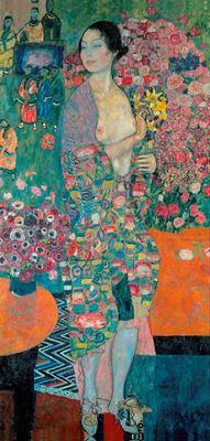 Show Dansçı, 1916-1918, Tuval üzerine yağlıboya, 180 x 90 cm, Özel koleksiyon. details