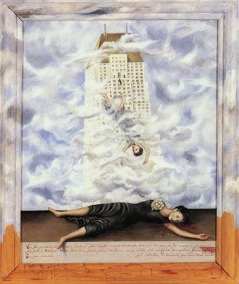 Show Dororthy Hale'nin intiharı, 1939, Masonit üzerine yağlıboya, 59.7 x 49.5 cm, Phoenix Art Museum, Phoenix, ABD details