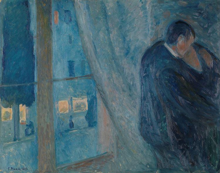 Edvard Munch, Öpücük, 1892 picture