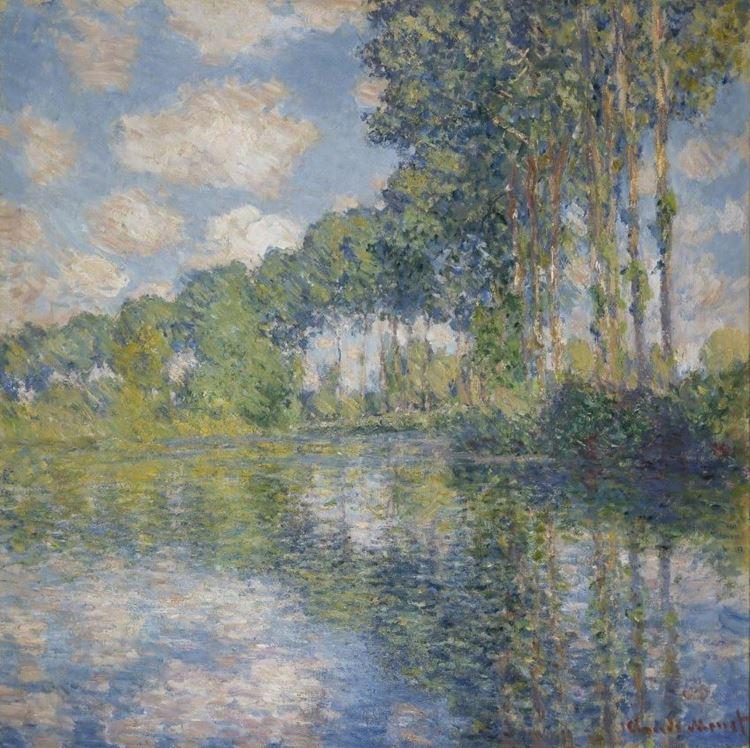 Epte Nehri Kıyısında Kavaklar, 1891 picture
