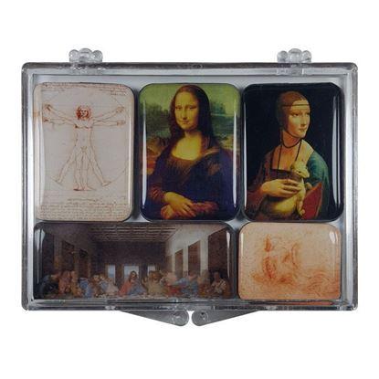 Da Vinci 5'li Magnet Set