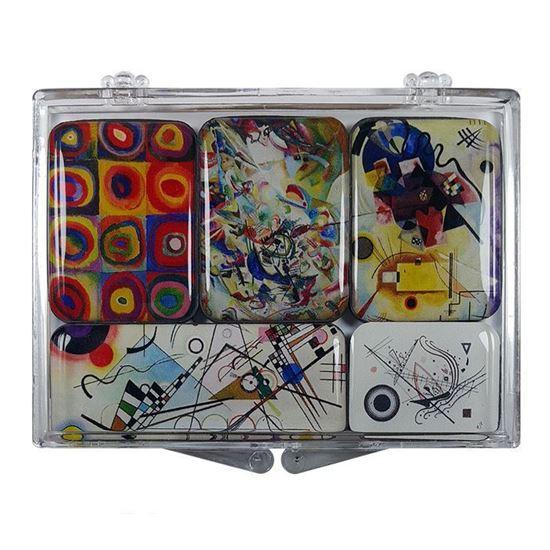 Kandinsky 5'li Magnet Set