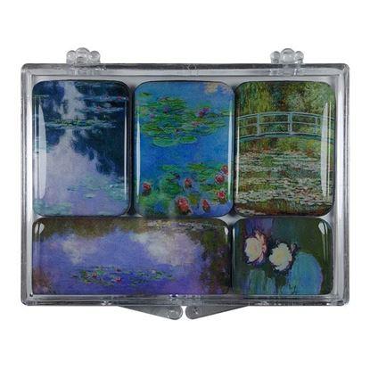 Monet 5'li Magnet Set -II-
