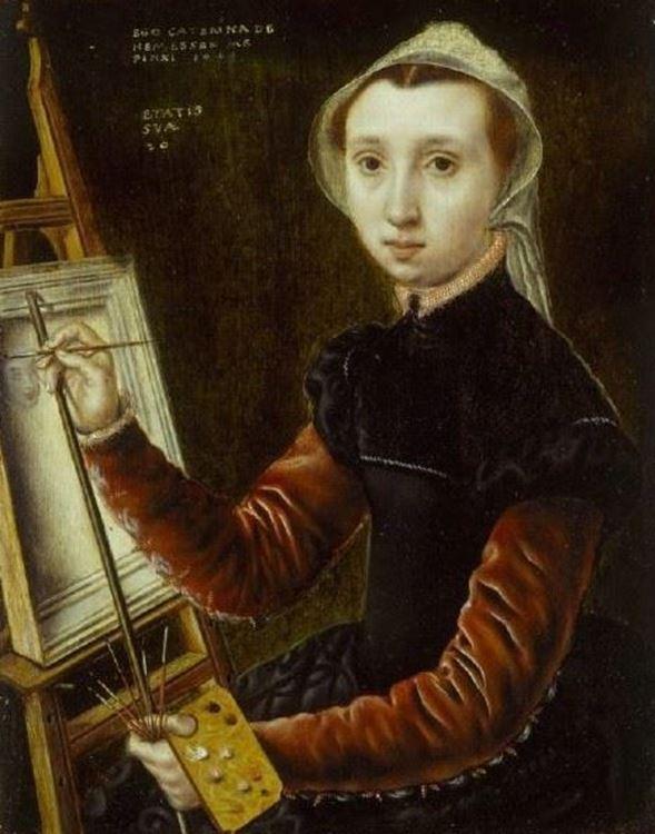 Catharina van Hemessen (1528-1565) picture