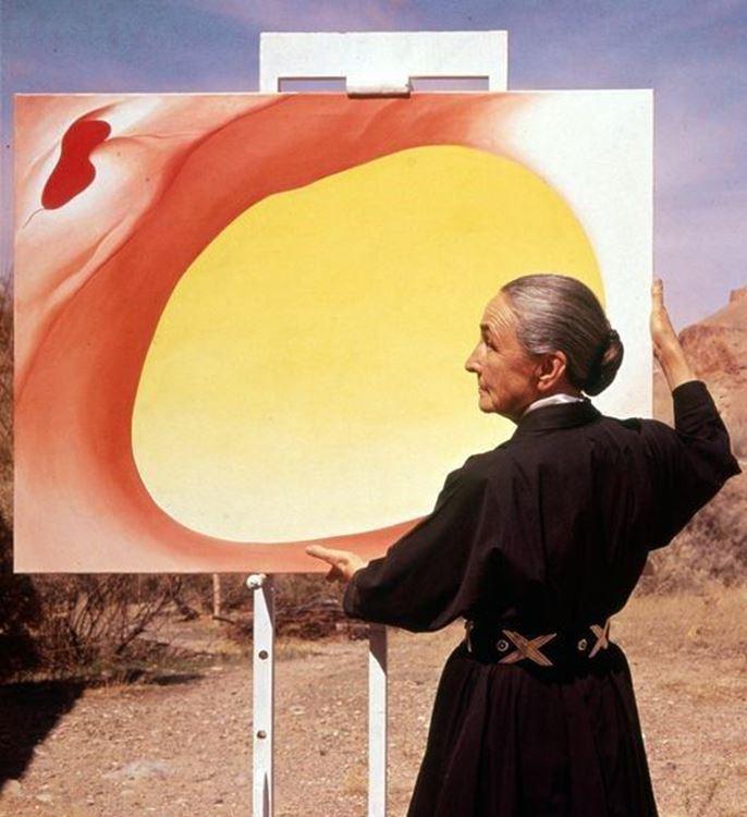 Georgia O'Keeffe (1887-1986) picture