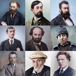 Picture of Ressamların Renklendirilmiş Fotoğrafları